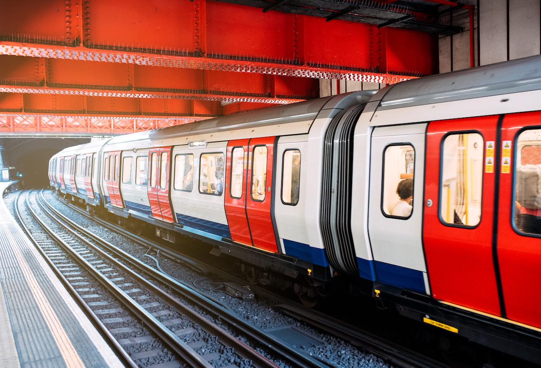 Retraso en el metro de Londres